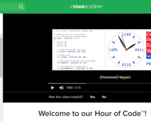 Hour of Code - Technology Curriculum