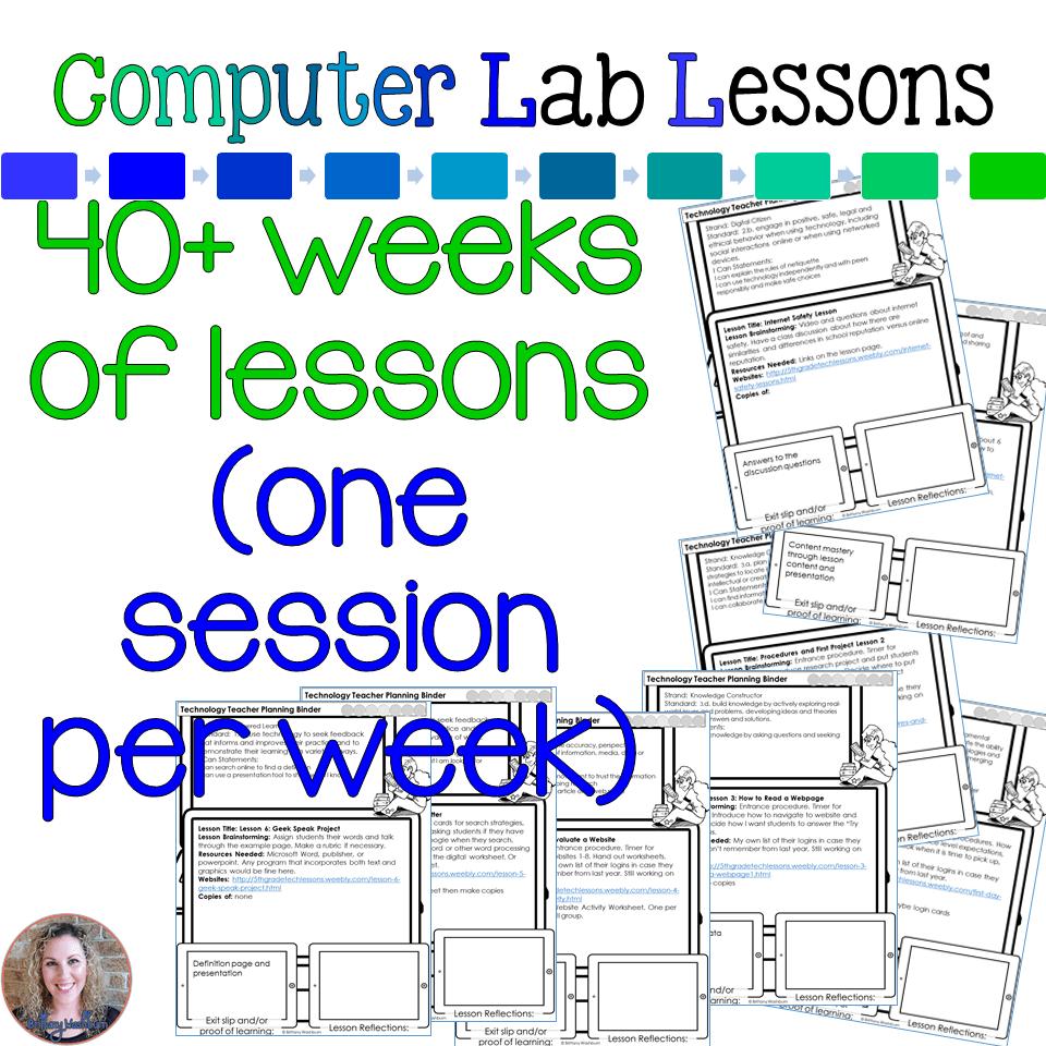 3rd Grade Tech Lesson Plans - Technology Curriculum