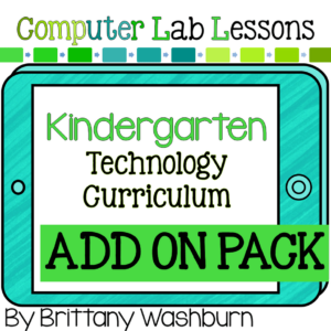 Kindergarten Tech Curriculum - Technology Curriculum