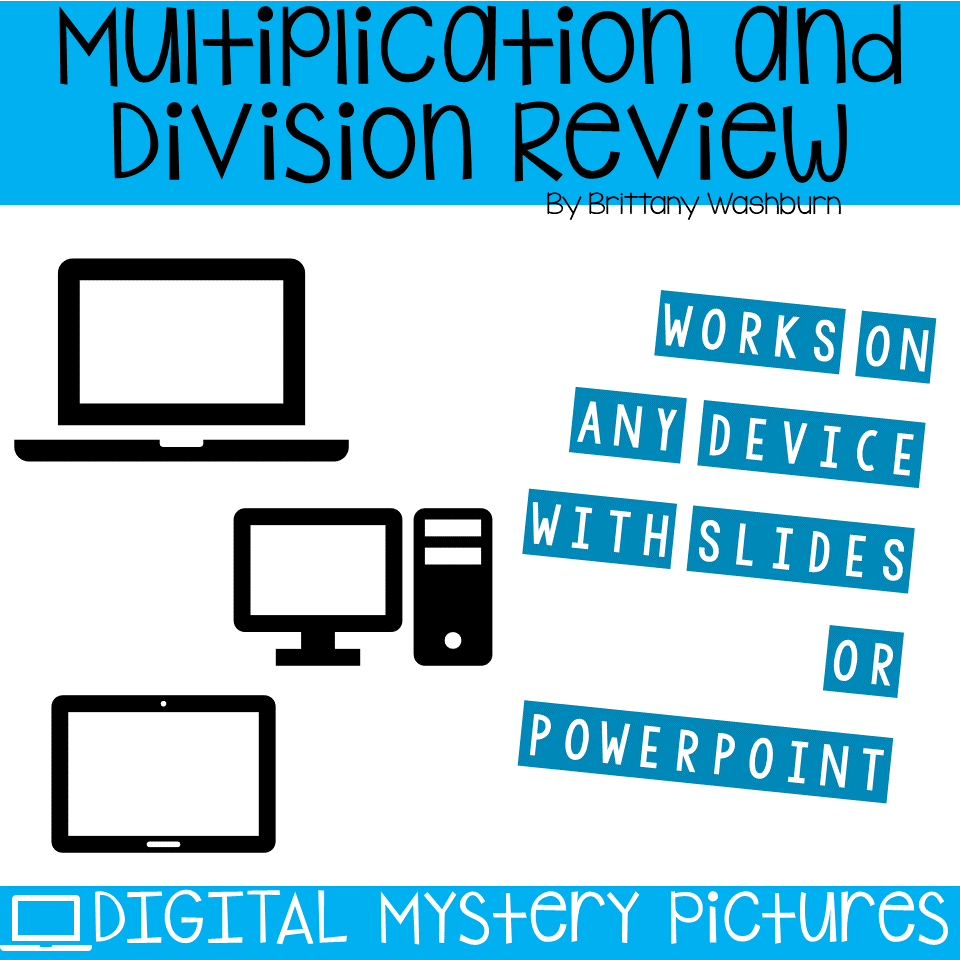 Winter Themed Multiplication and Division Practice DIGITAL Mystery ...