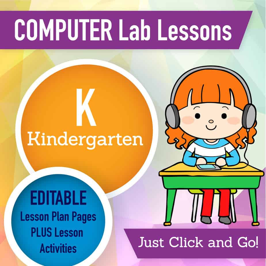 Kindergarten Tech Lesson Plans One Year