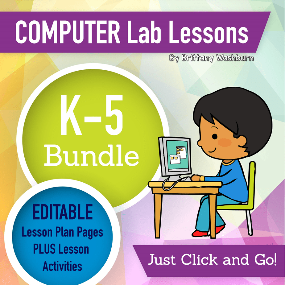 K-5 Technology Curriculum BUNDLE Monthly Subscription