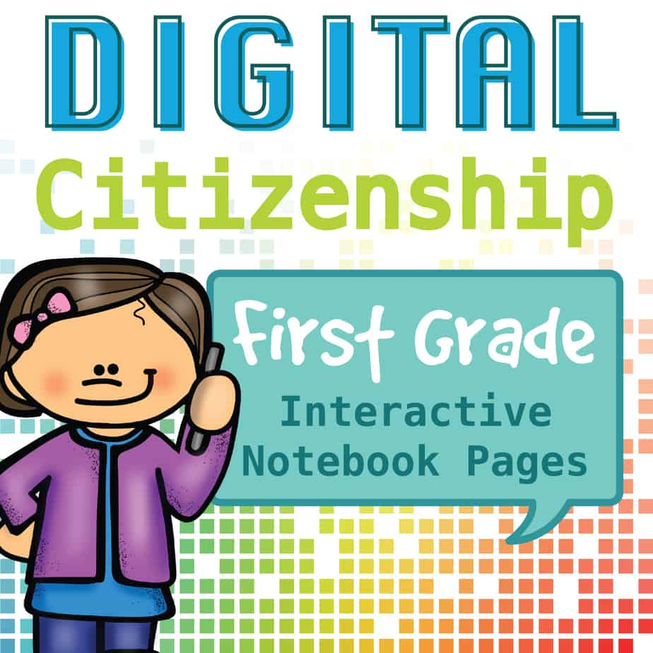 Internet Safety And Digital Citizenship Interactive Notebook First
