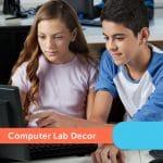 Computer Lab Decor
