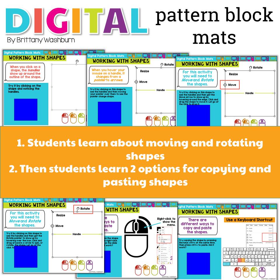 Pattern Block Mats Best Inspiration Design