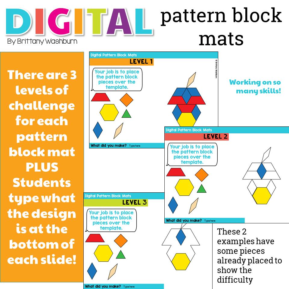 Pattern Block Mats Best Design Ideas