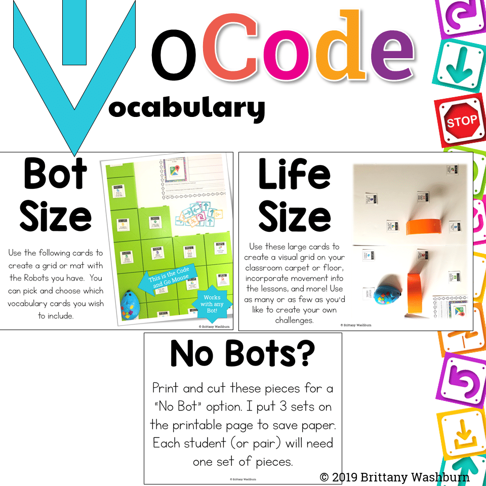Vocab CODING - Google Apps Icons - Technology Curriculum